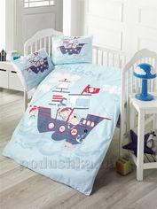 Детское постельное белье Victoria Ship Детский комплект от Podushka
