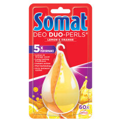 Ароматизатор для посудомоечной машины Somat New Deo Duo-Pearls Lemon Orange 9000101000436 от Podushka