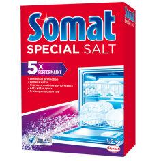 Акция на Соль для посудомоечной машины Somat 3-го действия 1,5 кг 9000100147293 от Podushka