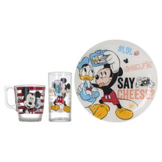 Акция на Набор Luminarc Disney Party Mickey 3 предмета L4871 от Podushka