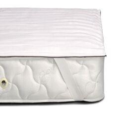 Акция на Наматрасник шерстяной Woollen Royal Pearl обычный с резинкой по углах MirSon 415 80х200 см от Podushka
