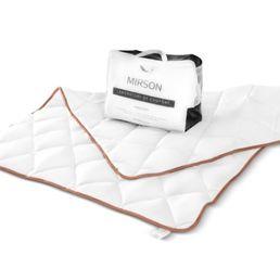 Одеяло детское зимнее хлопковое Gold Silk MirSon 095 зимнее 110х140 см от Podushka
