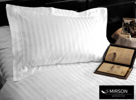 Элементы постельного белья MirSon Royal Pearl сатин простынь 220х240 см от Podushka