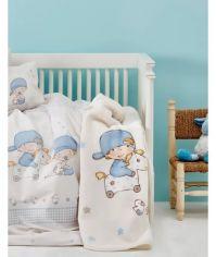 Постельное белье в кроватку Karaca Baby boys Детский комплект от Podushka