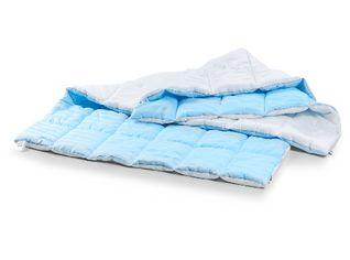 Одеяло детское антиаллергенное EcoSilk Valentino Зима Чехол сатин+микро 007 зимнее 110х140 см вес 700 г. от Podushka