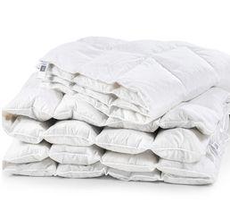Одеяло детское зимнее пуховое кассетное Luxury Exclusive белый пух 98% MirSon 080 зимнее 110х140 см вес 460 г. от Podushka