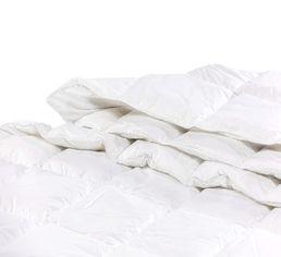 Одеяло детское летнее пуховое кассетное Luxury Exclusive белый пух 98% MirSon 078 летнее 110х140 см вес 110 г. от Podushka