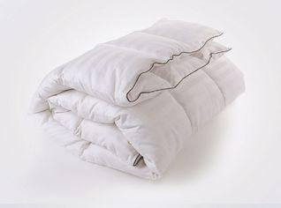 Акция на Детское зимнее пуховое кассетное одеяло MirSon Royal белый пух 98% Премиум 036 зимнее 110х140 см вес 700 г. от Podushka
