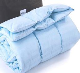 Одеяло детское зимнее пуховое кассетное MirSon Valentino белый пух 98% Премиум 034 зимнее 110х140 см вес 700 г. от Podushka