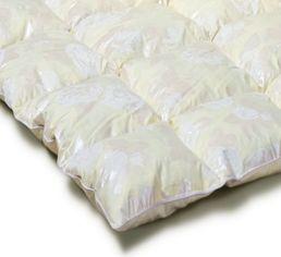 Акция на Одеяло детское пуховое кассетное Зима-плюс Extra пух 90% MirSon 042 зимнее 110х140 см вес 700 г. от Podushka