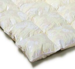 Акция на Одеяло пуховое кассетное Зима плюс MirSon Extra пух 90% 042 зимнее 172х205 см вес 1650 г. от Podushka