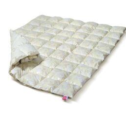 Одеяло детское зимнее пуховое кассетное Extra пух 90% MirSon 041 зимнее 110х140 см вес 600 г. от Podushka