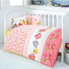 Акция на Детское постельное белье Eponj Zuzu pembe Детский комплект от Podushka