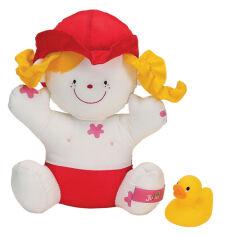 Игрушка для купания Девочка Джулия с утенком Ks Kids 10419 от Podushka