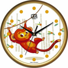 Акция на Настенные часы в детскую Юта Классика 01G62 от Podushka