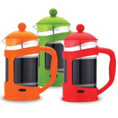 Френч-пресс для чая и кофе Maestro 0,8 л MR 1665  цвет оранжевый от Podushka