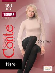 Акция на Колготы черные плотные для женщин Triumf 150 Den Conte 8С-57СП Nero 5 от Podushka