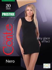 Акция на Колготки черные 20 Den женские Prestige Conte 8С-43СП Nero 3 от Podushka