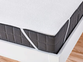 Наматрасник непромокаемый Ютек Aress на резинках по углам 140х190 см от Podushka