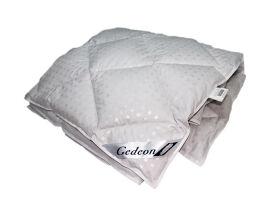 Акция на Одеяло пуховое стеганое Гедеон 100% пух 155х205 см от Podushka