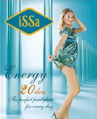 Колготки ISSA PLUS Energy 20  2 черный от Issaplus