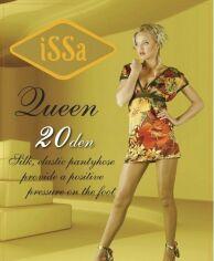 Колготки ISSA PLUS Queen 20  4 черный от Issaplus