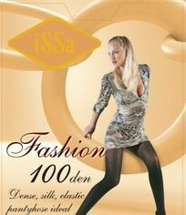 Колготки ISSA PLUS Fashion 100  5 черный от Issaplus