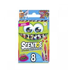 Акция на Набор ароматных восковых мини - карандашей Scentos Дружная компания 8 цветов 40279 от Podushka