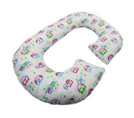 Акция на Подушка для беременных Рогалик Kidigo Совы PDV-R1 от Podushka