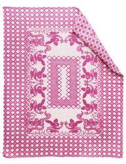 Одеяло детское WOT Зайцы розовое 100х140 см от Podushka