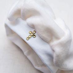 Берет для крещения новорожденного Бетис велюр 68 цвет белый от Podushka