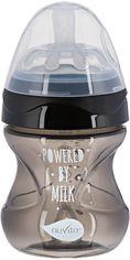 Акция на Детская Антиколиковая бутылочка для кормления Nuvita Mimic Cool 150 мл Черная (NV6012BLACK) от Rozetka