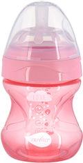 Детская Антиколиковая бутылочка для кормления Nuvita Mimic Cool 150 мл Розовая (NV6012PINK) от Rozetka