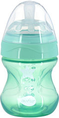 Детская Антиколиковая бутылочка для кормления Nuvita Mimic Cool 150 мл Зеленая (NV6012GREEN) от Rozetka