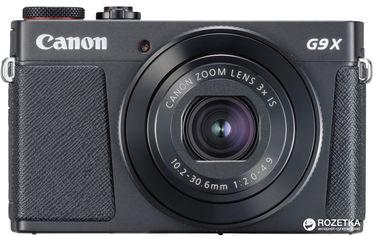 Фотоаппарат Canon PowerShot G9 X Mark II Black (1717C013) Официальная гарантия! от Rozetka