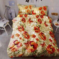 Комплект постельного белья MirSon Бязь 17-0017 Liliana 175х210 (2200001384989) от Rozetka