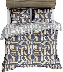 Комплект постельного белья MirSon Бязь 17-0011 Fausta 175х210 (2200001384927) от Rozetka