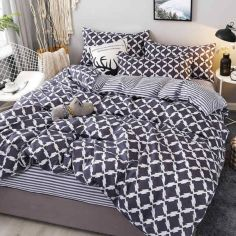 Комплект постельного белья MirSon Бязь 17-0008 Ubaldo 143х210 (2200001383340) от Rozetka