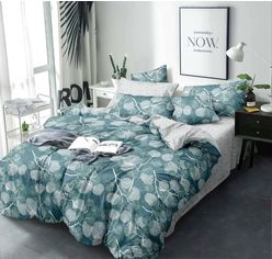 Комплект постельного белья MirSon Бязь 17-0004 Zelma 143х210 (2200001382848) от Rozetka