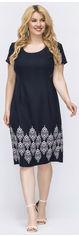 Платье Dressa 47737 50 Темно-синее (2000005619175) от Rozetka