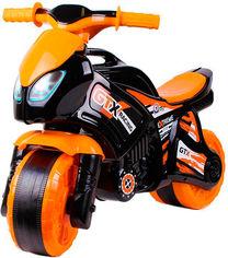 Беговел ТехноК Мотоцикл Оранжево-черный (5767) (4823037605767) от Rozetka