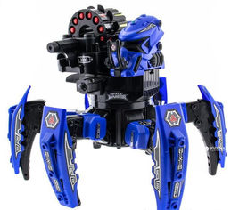 Робот-паук р/у Keye Toys Keye Space Warrior ракеты, лазер (синий) (KY-9003-1B) (2711167451229) от Rozetka