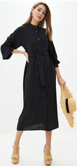 Платье Lilove 041 XXL (50-52) Черное (ROZ6400001748) от Rozetka