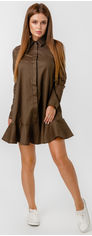 Платье Lilove 020 XXL (50) Хаки (ROZ6400001831) от Rozetka
