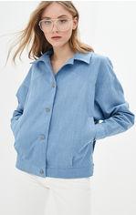 Джинсовая куртка Lilove 047 L (46-48) Синяя (ROZ6400001787) от Rozetka