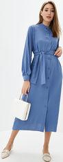 Платье Lilove 041-3 XXL (50-52) Синее (ROZ6400001752) от Rozetka