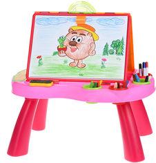Обучающий стол Same Toy My Art centre Розовый (8806Ut) от Rozetka