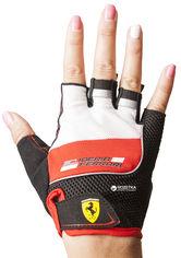 Перчатки для скейтбордов Ferrari M Красно-черные (6923744035944) от Rozetka