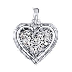 Серебряная подвеска с цирконием 000124769 000124769 от Zlato