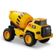Акция на Машинка CAT Мощные машины Цементовоз со светом и звуком 30 см (82269) от Будинок іграшок